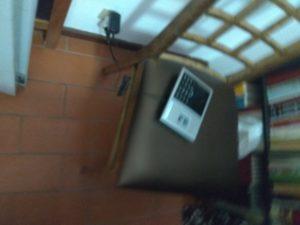 Inicio da instalação do relógio de ponto