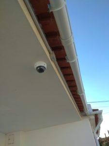 camera rotativa doméstica instalação cctv