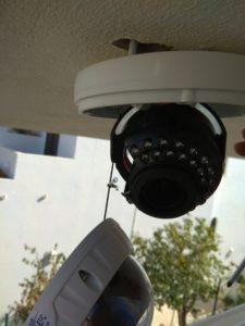 camera rotativa de vigilancia