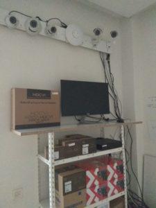 Câmaras em Exposição video vigilância