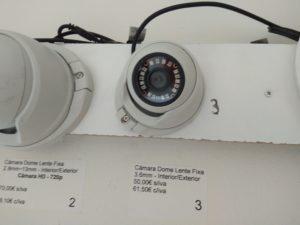 expositor video vigilância dome HD portimão2