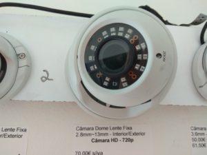 expositor video vigilância HD portimão