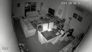 Imagem de exemplo da câmera de video vigilância full hd 1080p