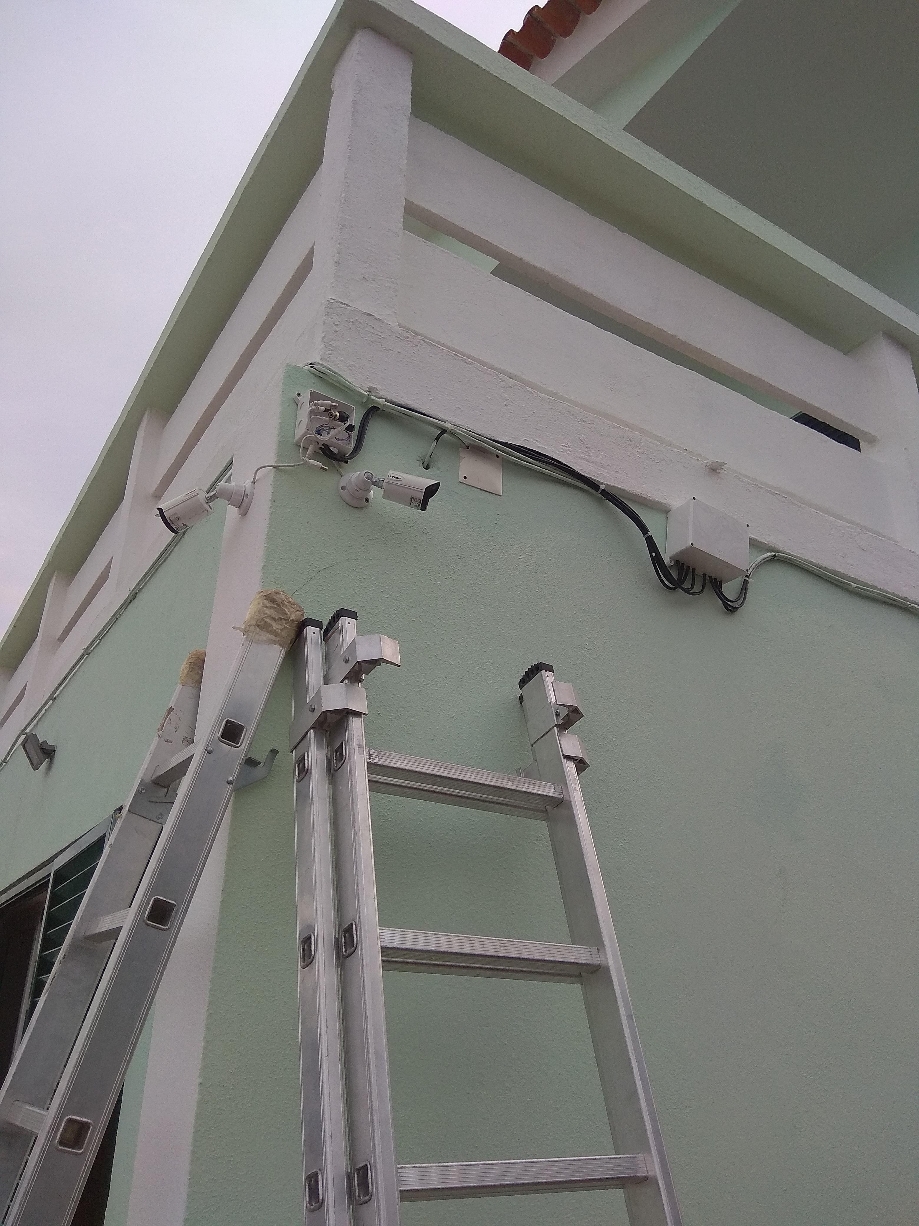 Video vigilância Instalação Faro